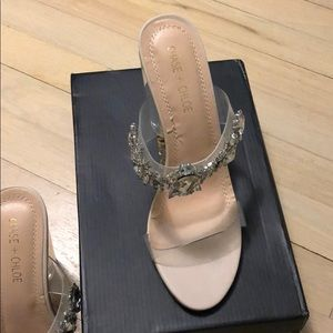 Chase + Chloe Shoes - Never worn jeweled heels